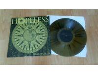 hopeless - dear world - metal rock colour vinyl LP - 500 only