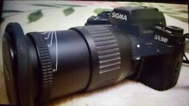 Professional Sigma Digital Camera. Aspherical imaging sensor. Open to offers. Collect today cheap