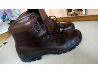 Walking /hiking boots size 12. Brown