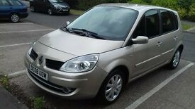 2008. Automatic. Renault Scenic. Mot 12 months.Excellent condition. Full service history