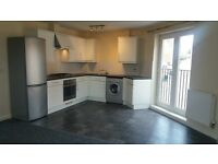 Modern, first floor 2 bed flat, bed 1 with shower room. Open plan kitcher/lounge/diner.