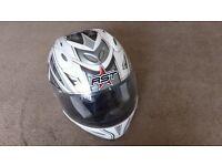 RST Cobra Motorcycle Motorbike Helmet - M 57-58 . 1450-1550g - never been in accident