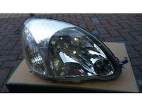 Toyota Yaris Headlight - Rights hand side