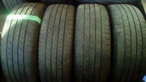 Four  P245 50 R20 M+S tires plus a free spare.