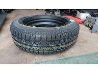 Ford Fiesta Black 14 inch Spare Wheel Bridgestone Tyre B391 175/65/R14 Never Used Like New condition