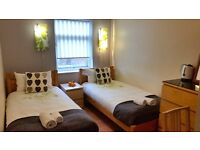 Holiday accommodation in London - £25 per night per person or less