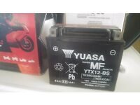 YUASA YTX12-BS. MOTORCYCLE BATTERY. QUAD, JET SKI.