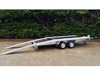 Car Transporter Trailer , Boro Jupiter bed 4,5m, new.