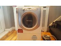 hotpoint condenser dryer 8kg fully working bargian