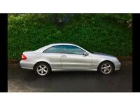 Mercedes CLK 200K 1.8 AVANTGARDE TIP AUTOMATIC, Full Service History, Leather Interior
