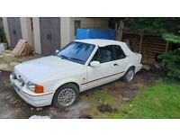 Ford, ESCORT, Convertible, 1990, Manual, 1597 (cc), 2 doors
