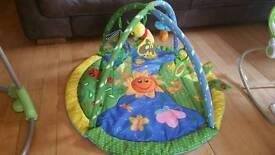 Large baby play mat (Beautiful Garden)