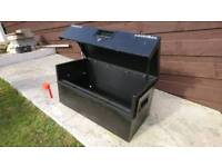 Sentribox toolbox to keep your tools safe in the van storage garage
