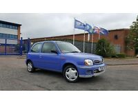 2001 Nissan Micra 1.0 S FULL MOT ONLY 47,000 MILES NICE CLEAN CAR First Yaris Corsa Clio Polo