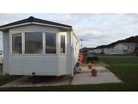 SILVER PLUS CARAVAN EYEMOUTH HOLIDAY PARK 6 BERTH SEPTEMBER OFFERS. OPEN ALL YEAR