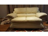 LEATHER SOFA - 2 Seater
