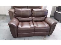 BRAND NEW SATURN ENDURANCE From ScS BROWN 2 Seater Standard Sofa **CAN DELIVER**