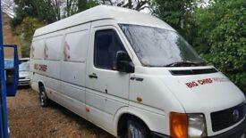 Volkswagen long wheelbase LT35, non runner van for sale