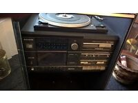 Vintage stereo system nice condition all works complete with speakers