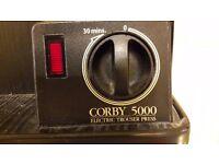 Black Corby Electric Trouser Press 5000