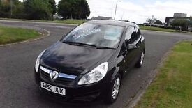 VAUXHALL CORSA 1.3ACTIVE CDTi,2009,Alloys,Air Con,Electric Windows,Full Service History,£30 Road Tax