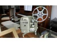 Cine film projector