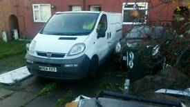 Vauxhall vivaro good van not ford transit