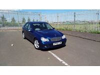 MERCEDES C200, MANUAL, FULLY SERVICED