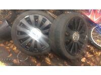 """VW T4 Audi TT / Mk4 golf / leon / S3 /tour an etc 18'' 98-06 MK1 18"""" 5x100 5x112 8j Alloy wheels"""