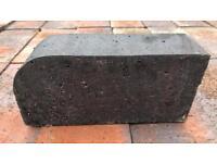 🌳Reclaimed Staffordshire Blue Bullnose Bricks