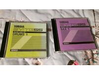 Yamaha SY-55 / TG-55 synthesizer rom cards