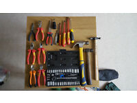 Assorted Tools & Tool Bag for Sale