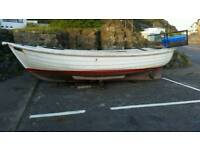 19 ft dell Quay fisher fishing boat