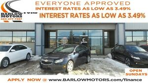 2014 Chevrolet Cruze 1LT*EVERYONE APPROVED*APPLY NOW DRIVE NOW!