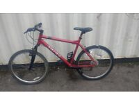 CARRERA SUBWAY MOUNTAIN BICYCLE ALUMINIUM LIGHT-WEIGHT 21 SPEED 26 INCH WHEEL AVAILABLE FOR SALE