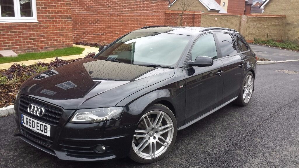 audi a4 b8 2 0 tdi 2010 170bhp avant black edition special edition estate open for offers in. Black Bedroom Furniture Sets. Home Design Ideas