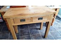 Console/Hallway Pine Table - £45.00