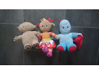 IN THE NIGHT GARDEN SOFT TOY IGGLE PIGGLE MAKKA PAKKA UPSY DAISY