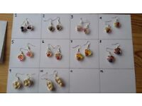 Handmade Earrings at Reduced Prices!(Set A)