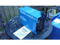 clarke 161 invertor arc/tig welder used a couple of times