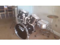 Tempo drum kit inc mats and stool