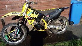 Suzuki Rm125 08 not cr ktm kx yz