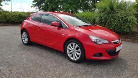 VAUXHALL ASTRA GTC 2.0 CDTi 16V SRi S/S 3dr Low Miles A Very Nice Car Fully Serviced Rac (red) 2012