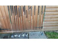 16 Assorted Golf Clubs ONLY £15