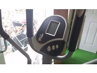 Exercise bike/cross trainer. Hardly used.