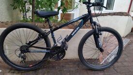 Saracen TuffTrax mountain-bike, 14'' frame