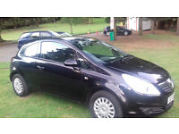 60,000 mile Vauxhall Corsa 1.0ltr Life 5dr 2009