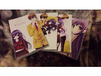 Various Manga books for sale
