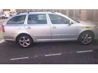Manchester plated taxi SKODA Octavia 1.6 TDI Automatic Estate