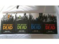 The walking dead books 1-4
